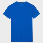 Paul Smith Men's Blue Crew Neck Short-Sleeve Vest