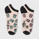 Xhilaration Women's Coffee Casual Socks One Size