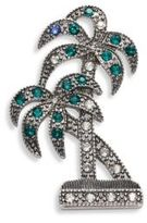 Marc Jacobs Double Palm Crystal Brooch