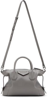 Givenchy Grey Small Antigona Soft Bag