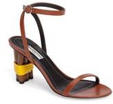 Balenciaga Women's Strappy Wrapped Heel Sandal