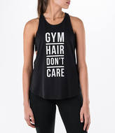 Under Armour Women's Gym Hair Strappy Graphic Tank