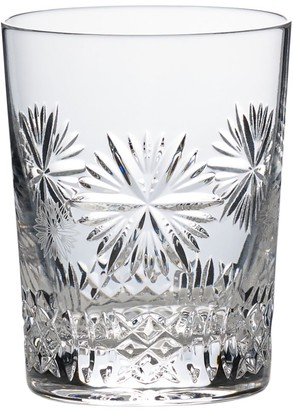 Waterford Snowflake Wishes Year Nine Prosperity Crystal Old-Fashion Glass