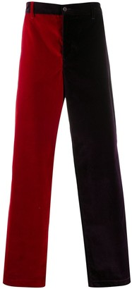 Aries Two-Tone Wide Chinos