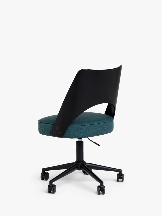Thumbnail for your product : John Lewis & Partners Venn Office Chair, Black/Green