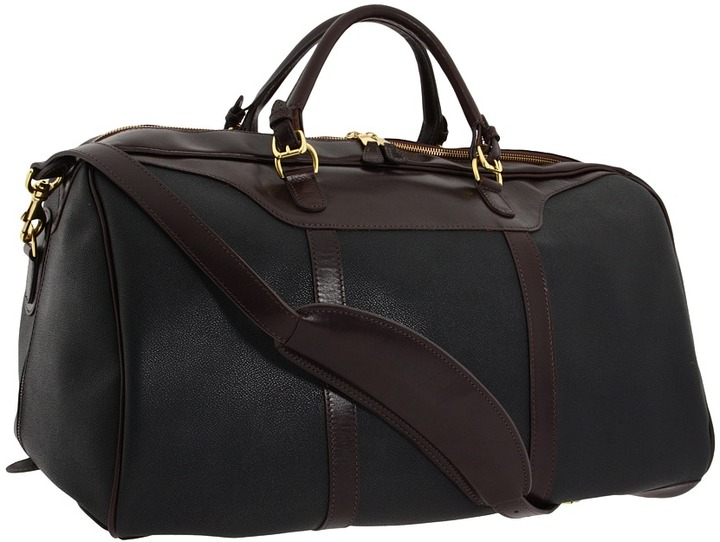 Mulholland Brothers - Hippo Duffel Medium Weekend Bag (Black) - Bags and Luggage