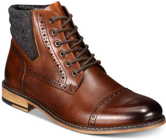 Bar III Men Carter Leather Dress Boots, Men Shoes