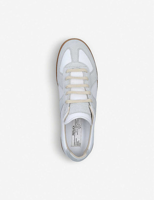 Maison Margiela Replica leather and suede trainers