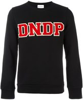 Dondup logo patch sweatshirt - men - Cotton - S