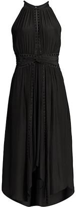 Ramy Brook Mel Stud Twist Dress