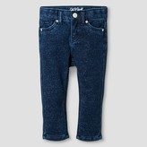 Baby Girls' Jeans Sparkle Wash Knit Denim - Cat and Jack