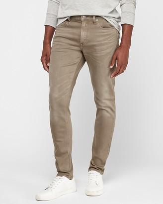 Express Skinny Olive Stretch+ Jeans
