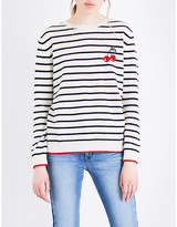 Chinti and Parker Cherry Breton cashmere jumper