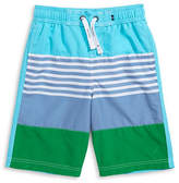 Nautica Barrel Block Swim Trunks