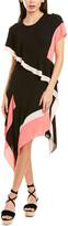 BCBGMAXAZRIA Evn Midi Dress