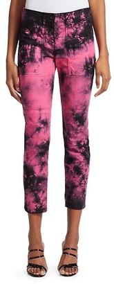 N°21 Tie Dye Ankle Pants