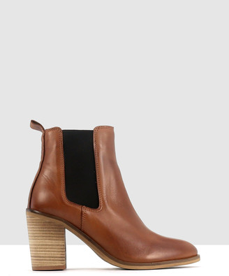 EOS Women's Brown Block Heels - Noel - Size One Size, 39 at The Iconic