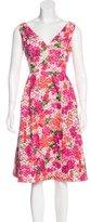 Monique Lhuillier Sleeveless Embellished Dress