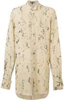 Ann Demeulemeester oversize devoré shirt