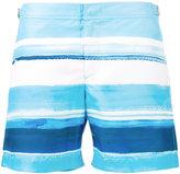 Orlebar Brown Bulldog McGovern striped swim shorts - men - Polyester - 28