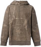 Yeezy Season 3 abstract print hoodie - men - Cotton - XS
