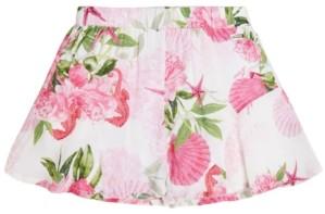 GUESS Big Girls Floral-Print Woven Shorts