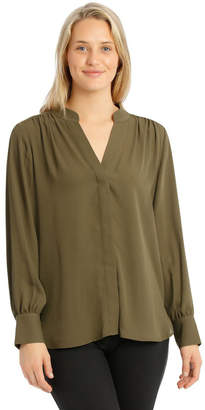 Basque Stitched Top Shirt