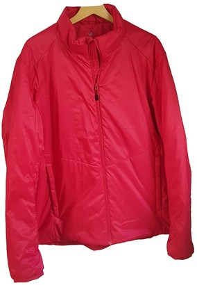 Uniqlo Red Leather Jacket for Women