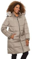 Gallery Plus Size Hooded Puffer Down Puffer Jacket