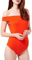 Miss Selfridge Jersey Bardot Bodysuit