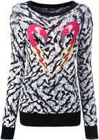Diesel flamingo intarsia jumper - women - Cotton/Polyester/Viscose - XS