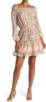 Thumbnail for your product : Love Stitch Off-the-Shoulder Printed Dress