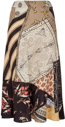Etro Patchwork Printed Skirt