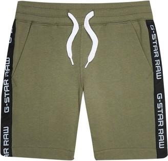 G Star River Island Boys Khaki Gstar jersey short