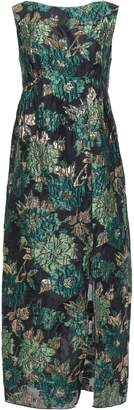 Anna Sui Brocade Midi Dress