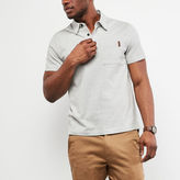 Roots Cedar Striped Jersey Polo