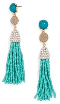 BaubleBar Women's Ashlee Tassel Drop Earrings