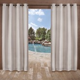 Exclusive Home 2-pack Delano Indoor/Outdoor Window Curtain