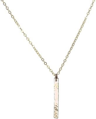 Clara Lifestyle Sunkissed Gold Pendant Necklace