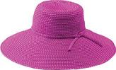 San Diego Hat Company Ribbon Braid Hat w/ Ticking RBL205 (Women's)