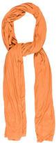 Yigal Azrouel Orange Lightweight Scarf