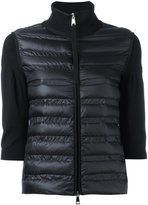 Moncler padded front sweater - women - Polyamide/Feather/Goose Down - M