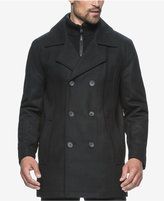 Andrew Marc Cheshire Wool-Blend Bibby Peacoat