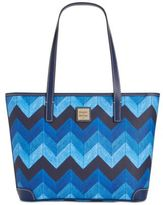 Dooney & Bourke Denim Chevron Charleston Shopper, A Macy's Exclusive Style
