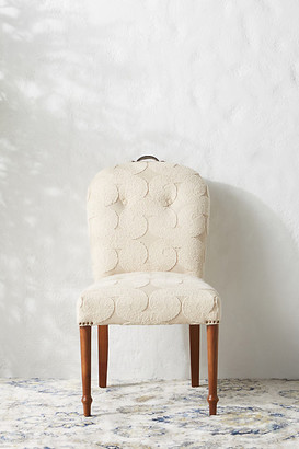 Anthropologie Mumbai Dining Chair By in Beige Size ALL