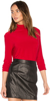 Norma Kamali Long Sleeve Turtleneck