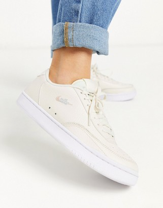 Nike Court Vintage trainers in cream