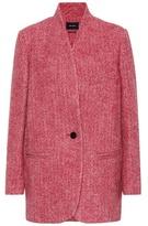 Isabel Marant Elis wool and alpaca coat