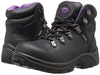 Avenger A7124 Steel Toe (Black) Women's Work Boots