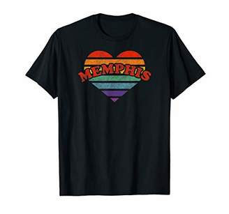 Memphis Retro Rainbow Heart Shirt 80s Whimsy LGBTQ Pride Sta